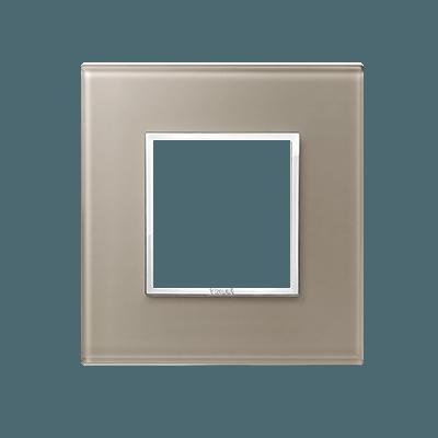 24642.74 - Bevelled crystal opal brown